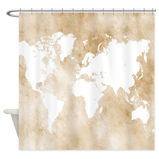 Design 82 world map Shower Curtain on updated world map, defined world map, illustrated world map, the first world map, unique world map, painted world map, edited world map, led world map, design world map, detailed world map, adjusted world map, drawn world map, easy world map, known world map, outline world map, enlarged world map, constructed world map, creative world map, corrected world map,